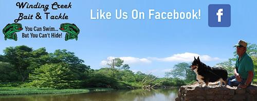 Follow Winding Creek Bait On Facebook